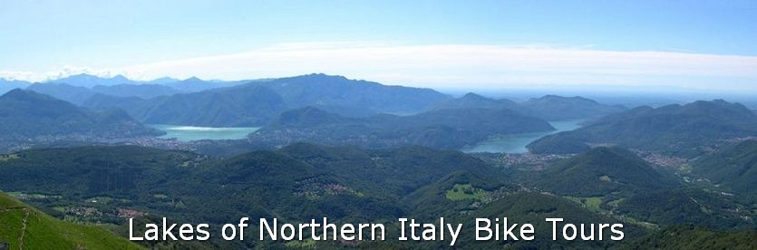 Cycling in Northern Italian Lakes