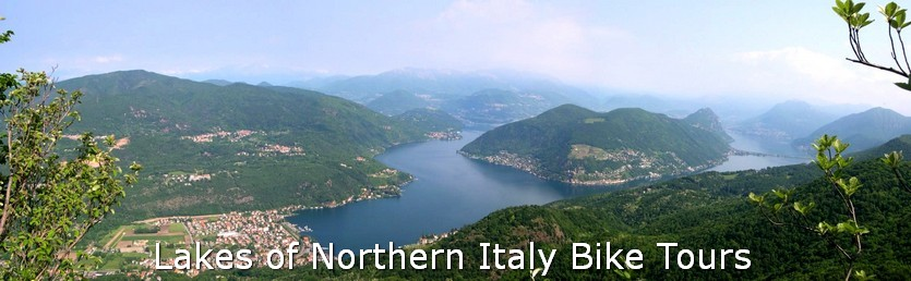 Road cycling routes Lake Lugano